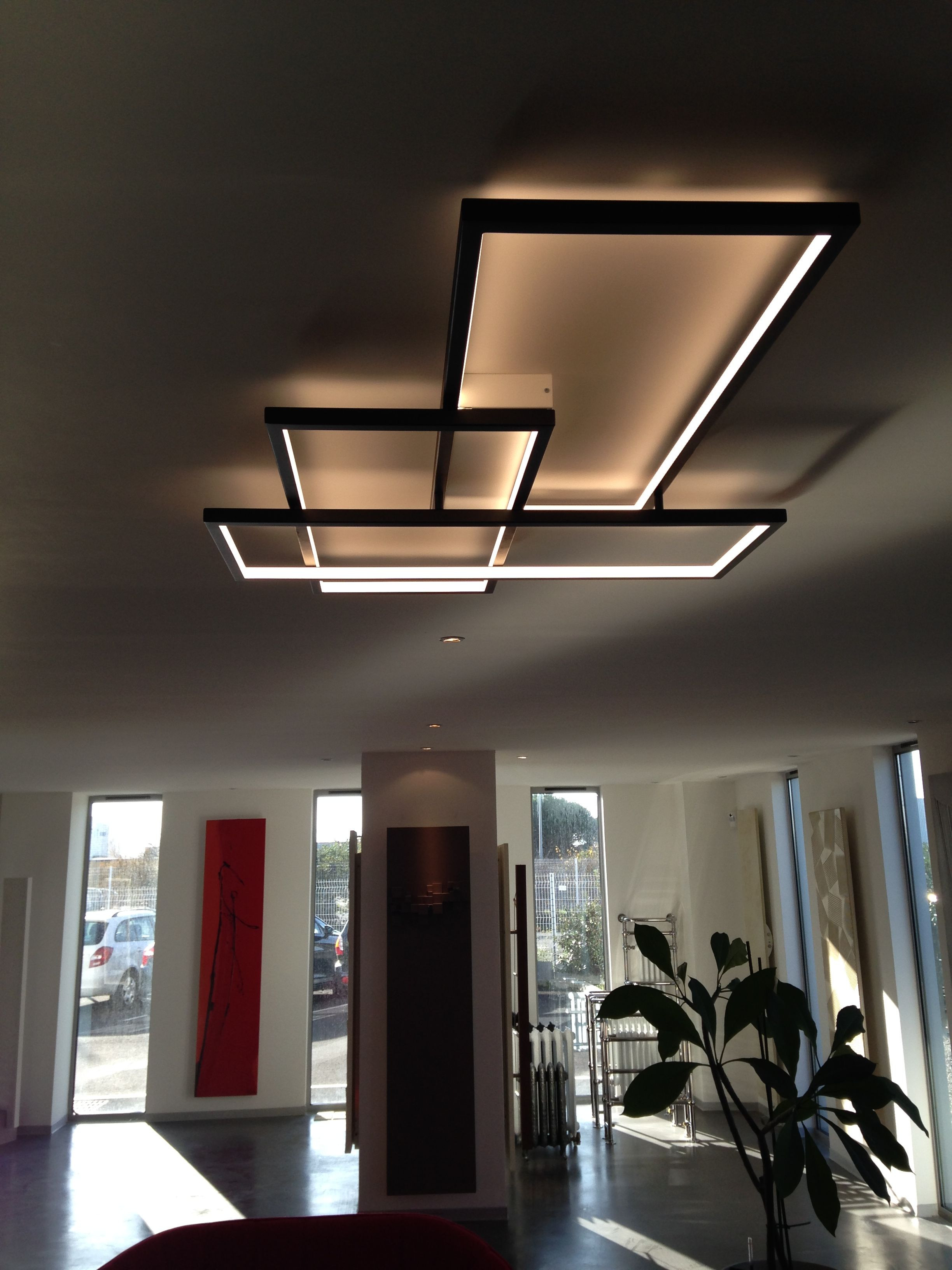 Unique Ceiling Design the Trio Lt A Product that Bines A High Quality Led