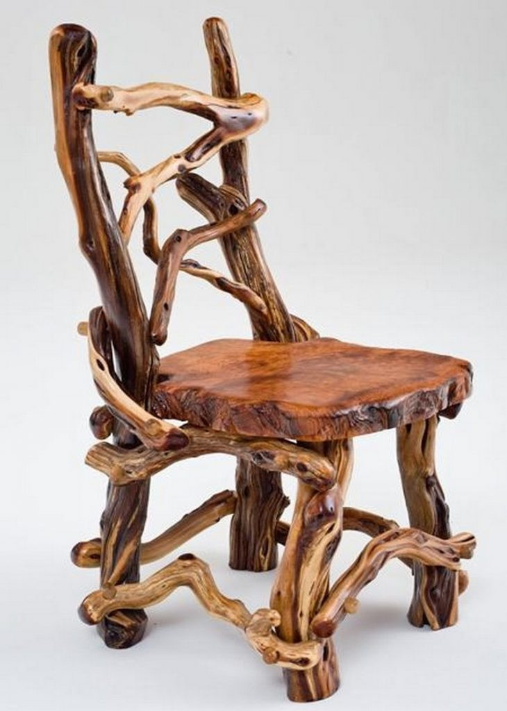 Unique Chair Design Unique Rustic Furniture – the Owner Builder Network