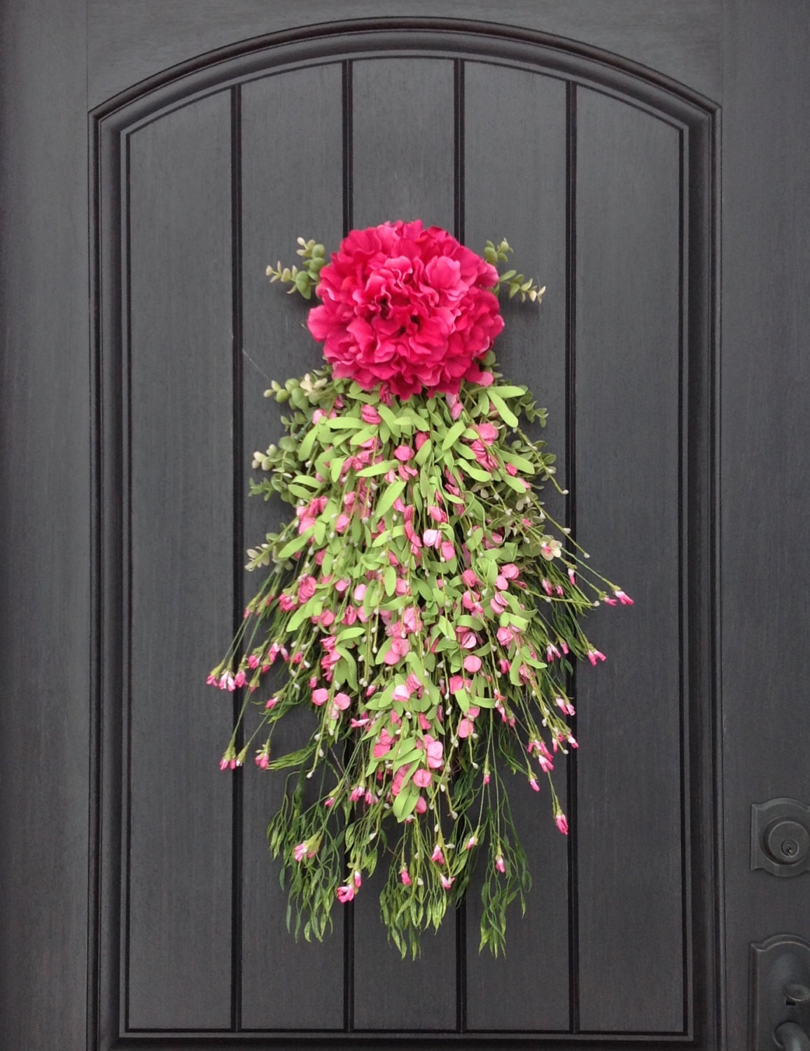 Unique Door Decoration 15 Joyful Handmade Spring Wreath Ideas to Decorate Your