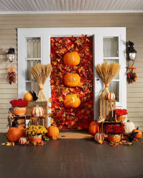 Unique Door Decoration 20 Fun and Unique Halloween Decorating Ideas the Art In Life