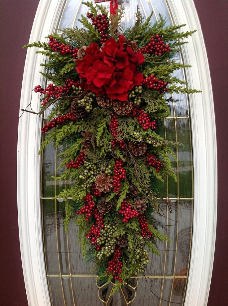 Unique Door Decoration 25 Unique Door Swag Ideas On Pinterest