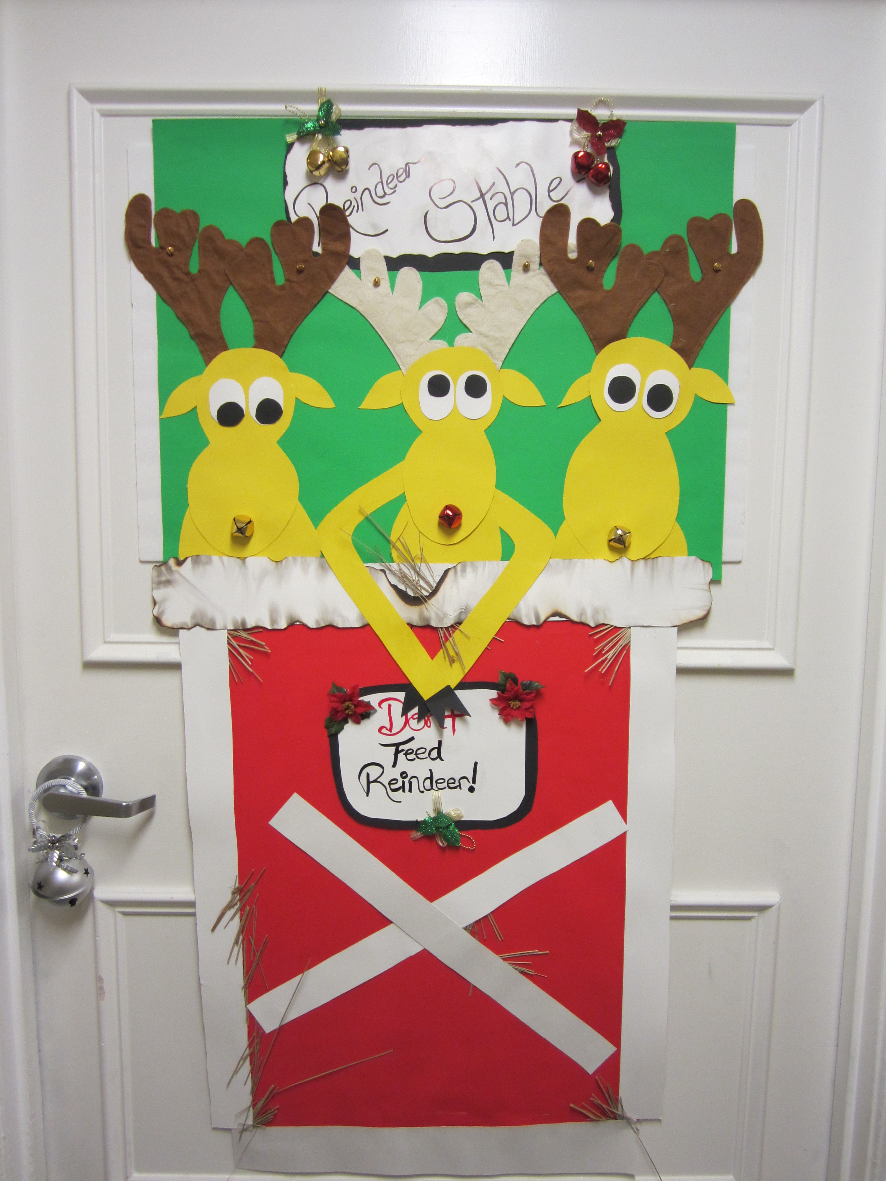 Unique Door Decoration 2nd Annual Guardian Angel Christmas Door Decorating