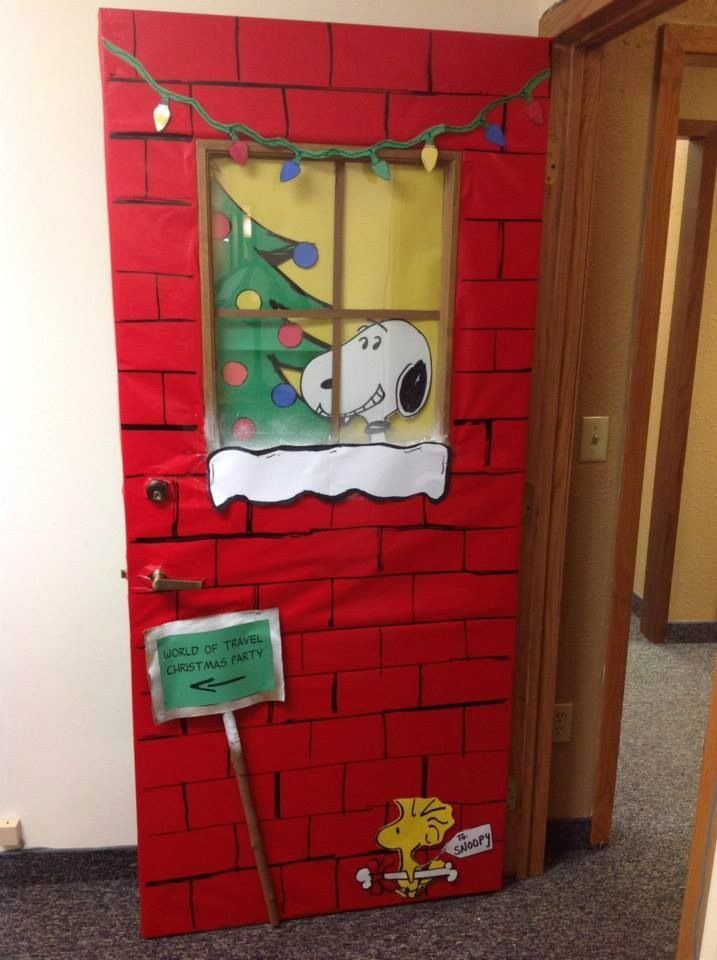 Unique Door Decoration Christmas Doors & Image source Image source
