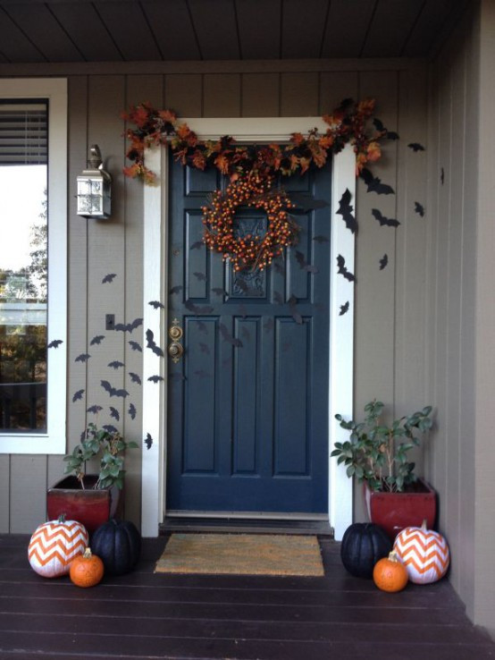Unique Door Decoration Front Door Decorating Ideas