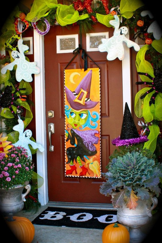 Unique Door Decoration top 17 Halloween Front Porch Decor – Unique & Easy Holiday