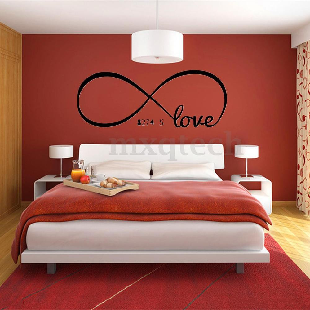 Wall Art Ideas Bedroom Cool Love Removable Wall Stickers Art Vinyl Quote Decal