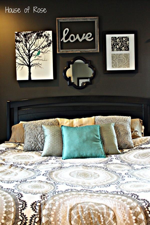 Wall Art Ideas Bedroom Master Bedroom Wall Makeover