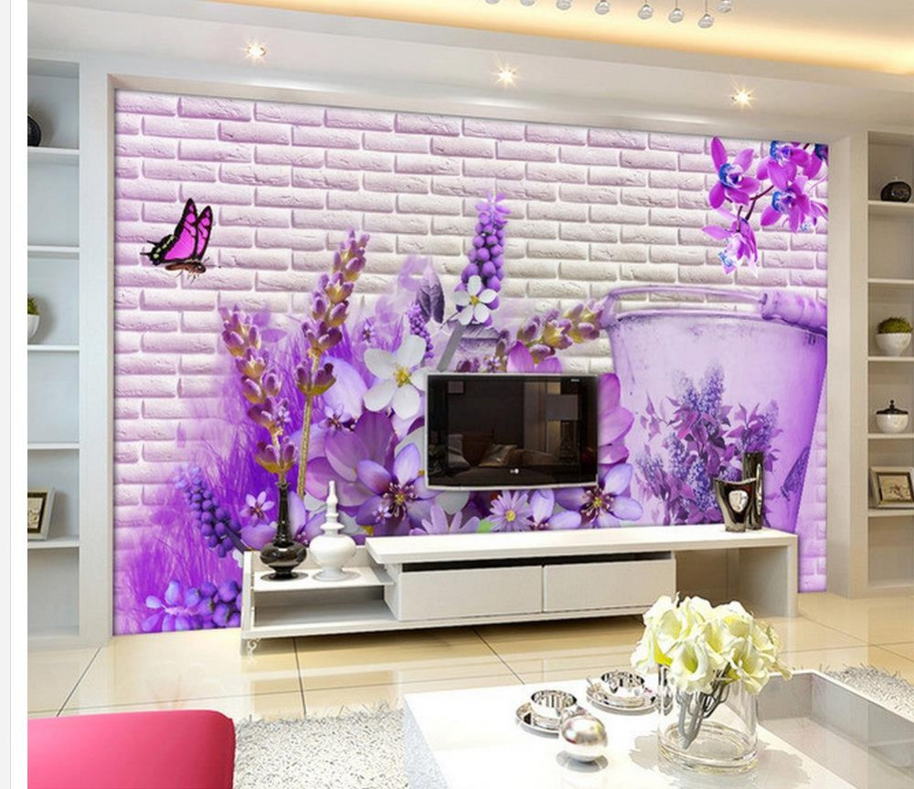Wallpaper Decoration for Living Room 3d Wallpaper for Room Home Decoration Corner Flower