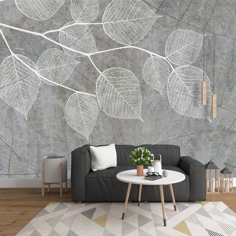 Wallpaper Decoration for Living Room Aliexpress Buy Modern Light Grey Wallpapers for