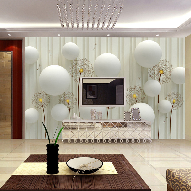 Wallpaper Decoration for Living Room Beibehang Custom Mural European Stereo 3d Wallpaper Living