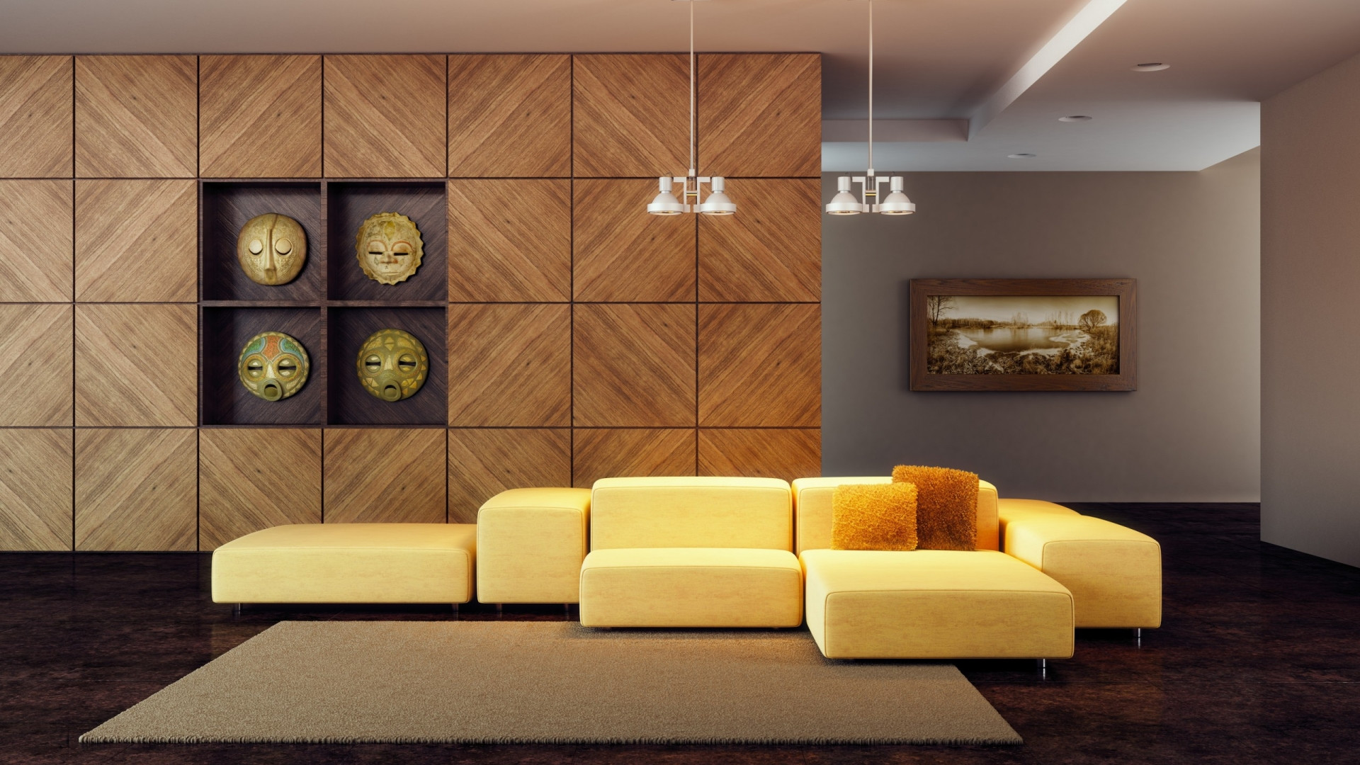 Wallpaper Decoration for Living Room Wallpaper Modern Living Room Wallpapers