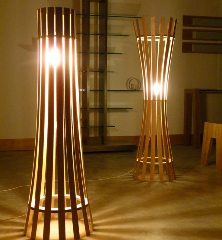 Wooden Lamp Designs Best 25 Wooden Floor Lamps Ideas On Pinterest