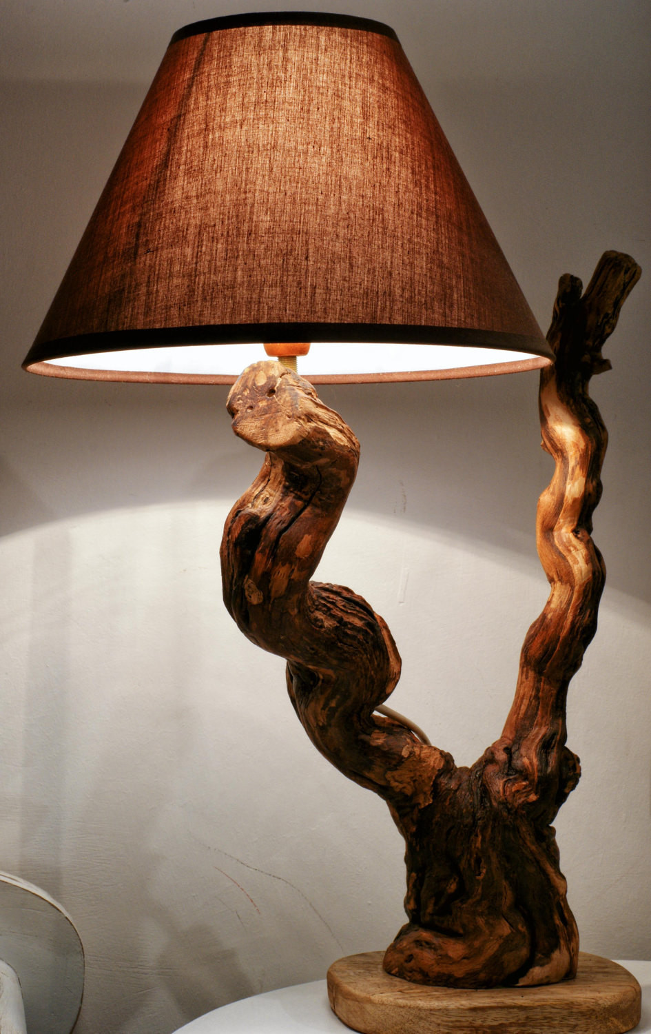 Wooden Lamp Designs Driftwood Lamp Sculpture Natural Design Driftwood