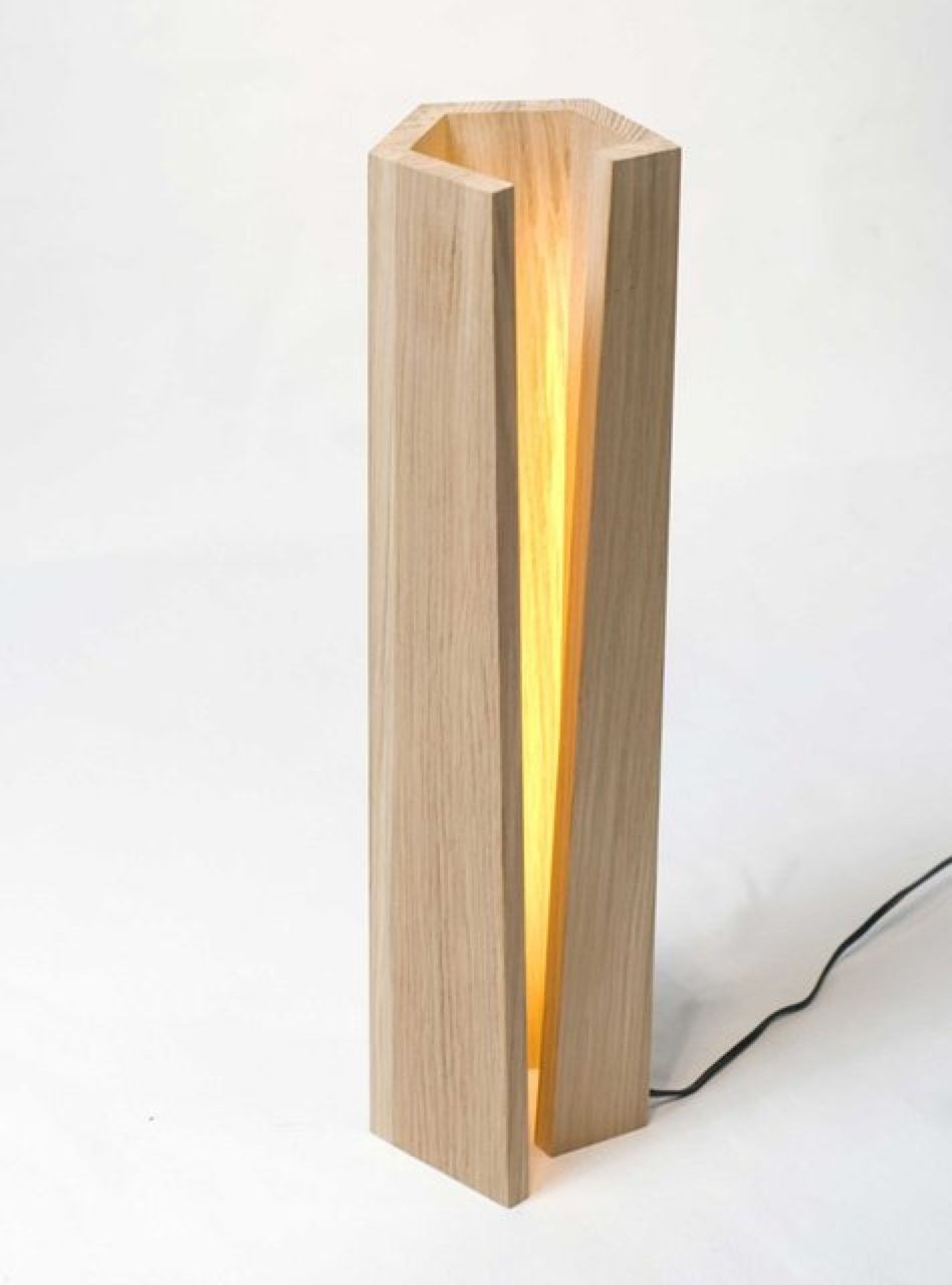 Wooden Lamp Designs Inspirational Image Wooden Lamp with Interesting Light