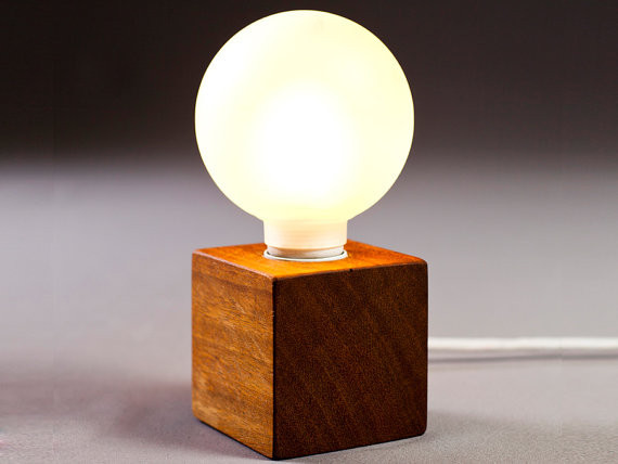 Wooden Lamp Designs solid Wood Lamp