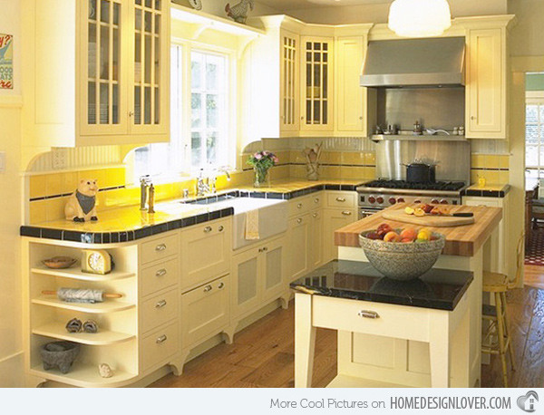 Yellow Kitchen Designs 15 Yellow Modular Kitchen Ideas Fox Home Design