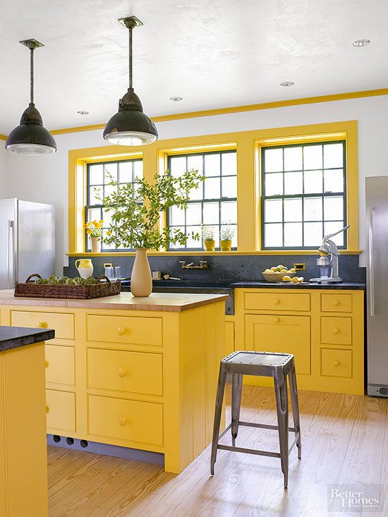 Yellow Kitchen Designs 1665 Best Images About Bhg S Colorful Ideas On Pinterest