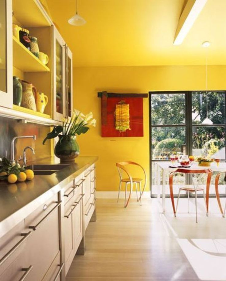 Yellow Kitchen Designs 17 Best Ideas About Yellow Kitchen Walls On Pinterest