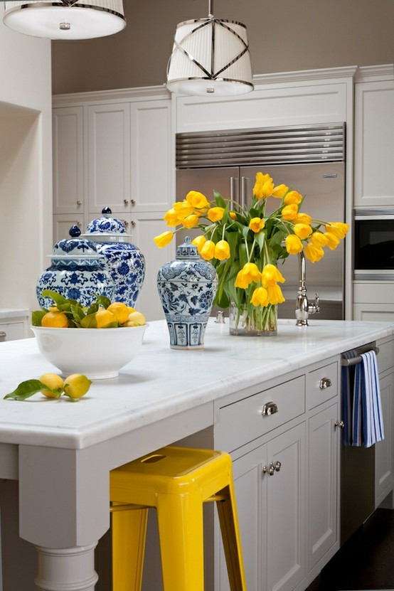 Yellow Kitchen Designs 25 Best Ideas About Yellow Kitchen Accents On Pinterest
