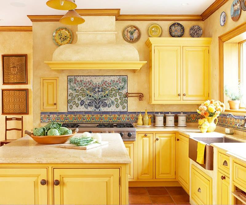 Yellow Kitchen Designs 25 Bright Kitchen Designs