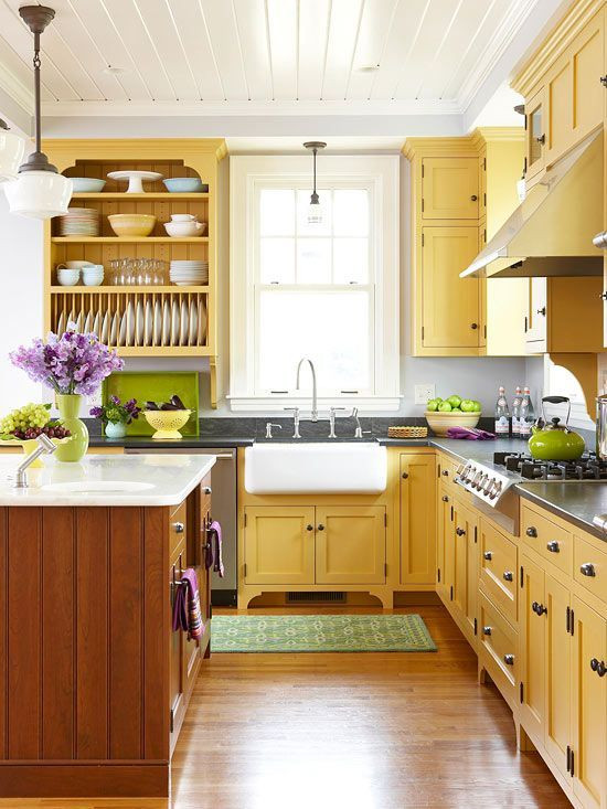 Yellow Kitchen Designs Best 25 Mustard Yellow Kitchens Ideas On Pinterest
