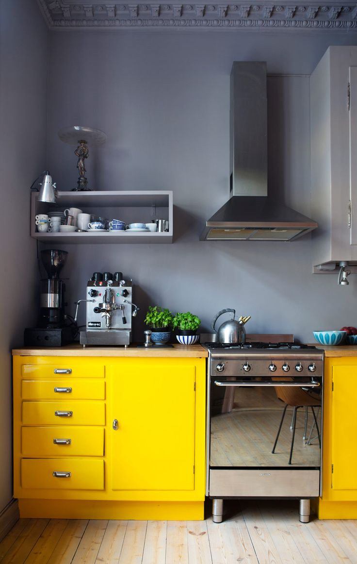 Yellow Kitchen Designs Best 25 Yellow Kitchen Walls Ideas On Pinterest