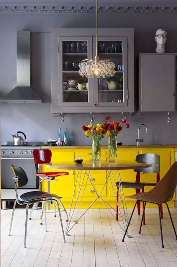 Yellow Kitchen Designs How to Decorate the Kitchen Using Yellow Accents