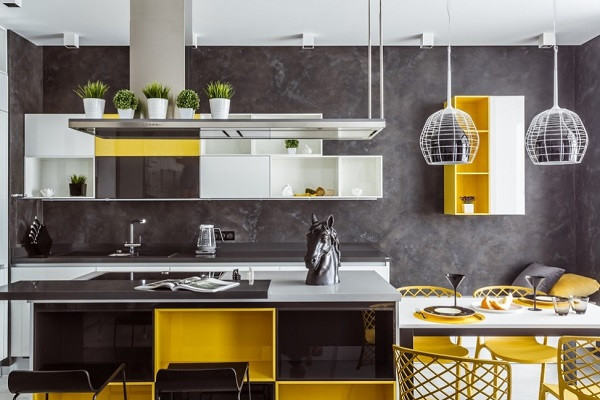 Yellow Kitchen Designs Latest Bedrooms Kitchens Living Rooms Bathrooms