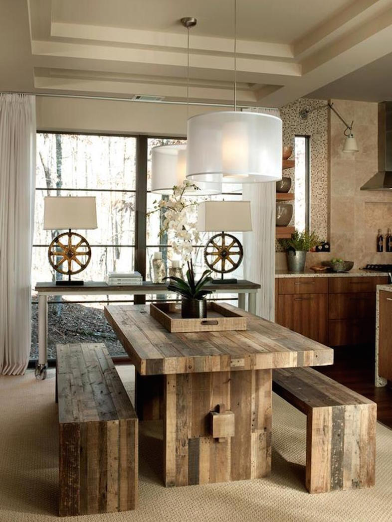 Captivating Rustic Dining Room Designs 23 Cool Rustic Dining Room Designs