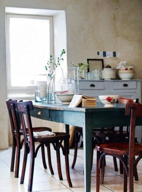 Captivating Rustic Dining Room Designs 47 Calm and Airy Rustic Dining Room Designs Digsdigs