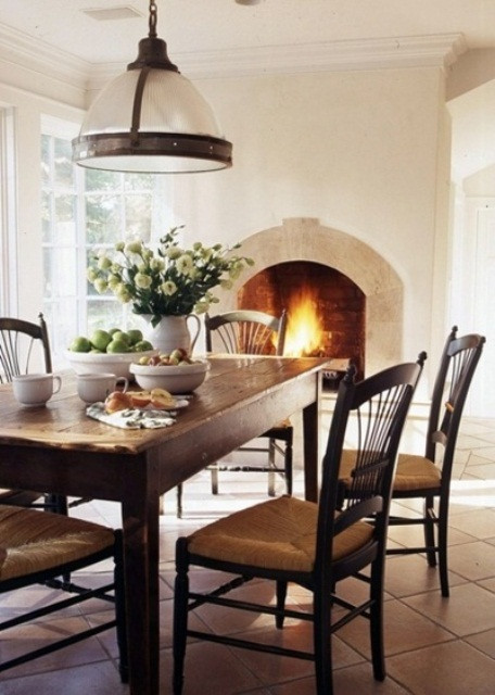 Captivating Rustic Dining Room Designs 47 Calm and Airy Rustic Dining Room Designs Digsdigs