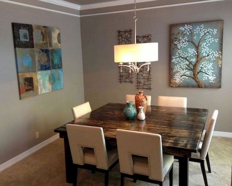 99 Captivating Farmhouse Dining Room Table Decorating