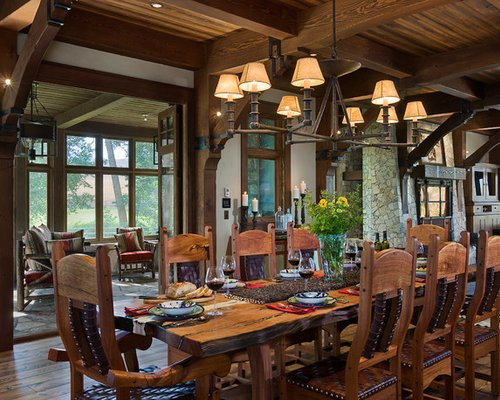 Captivating Rustic Dining Room Designs Rustic Dining Room Ideas Remodel and Decor