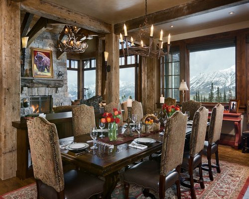 Captivating Rustic Dining Room Designs Tuscan Dining Room