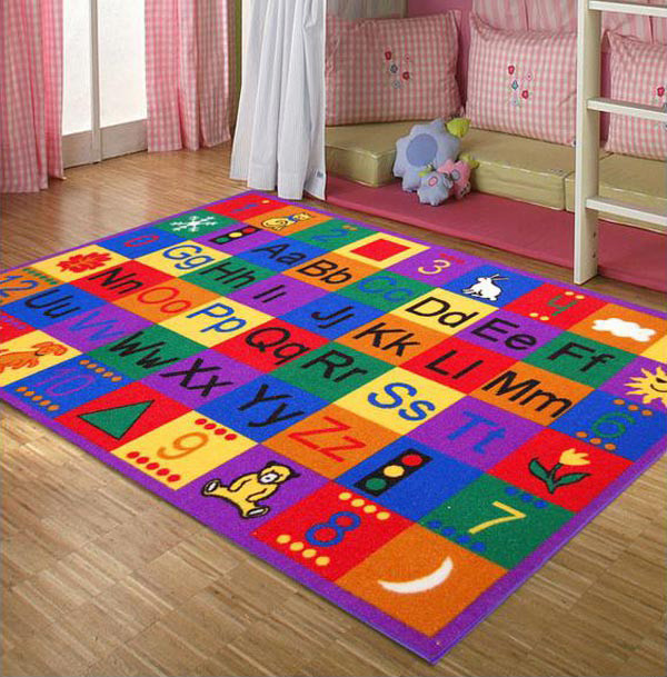 Carpet Designs for Kids 15 Kid S area Rugs for More Enjoyable Playtime