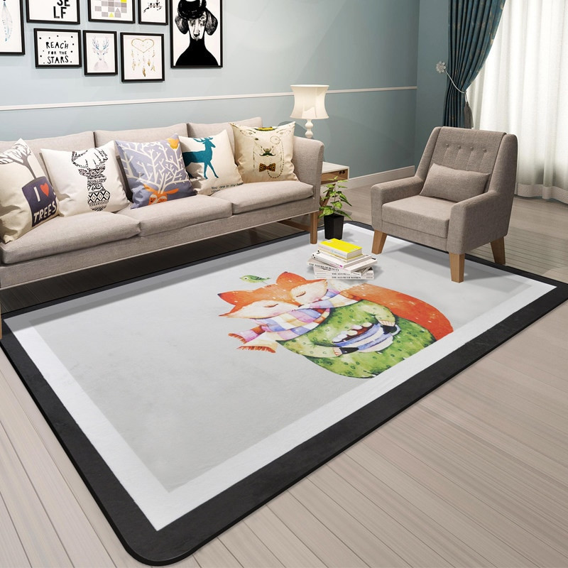 Carpet Designs for Kids Cartoon Animal Carpet Kids Room Home Decor Carpets for