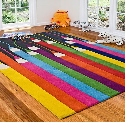Carpet Designs for Kids Colorful Design Of Kids Rug for Small Room