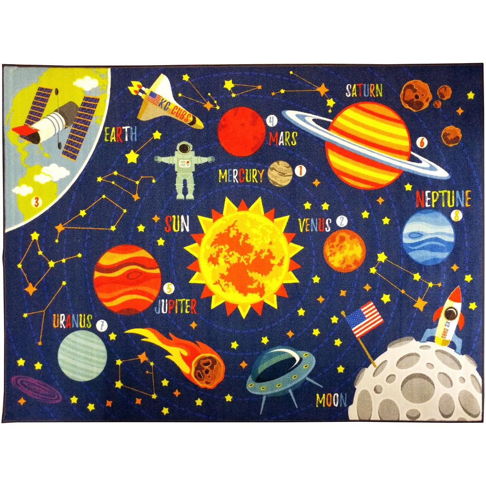 Carpet Designs for Kids Kc Cubs Multi Color Kids and Children Bedroom Playroom