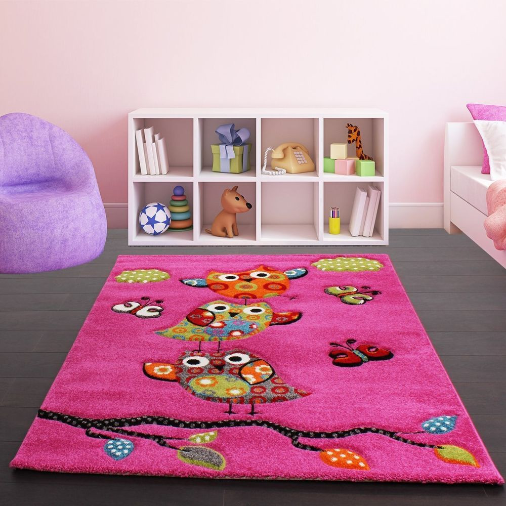 Carpet Designs for Kids Kids Pink Rug Modern Design Carpet soft Children Bedroom