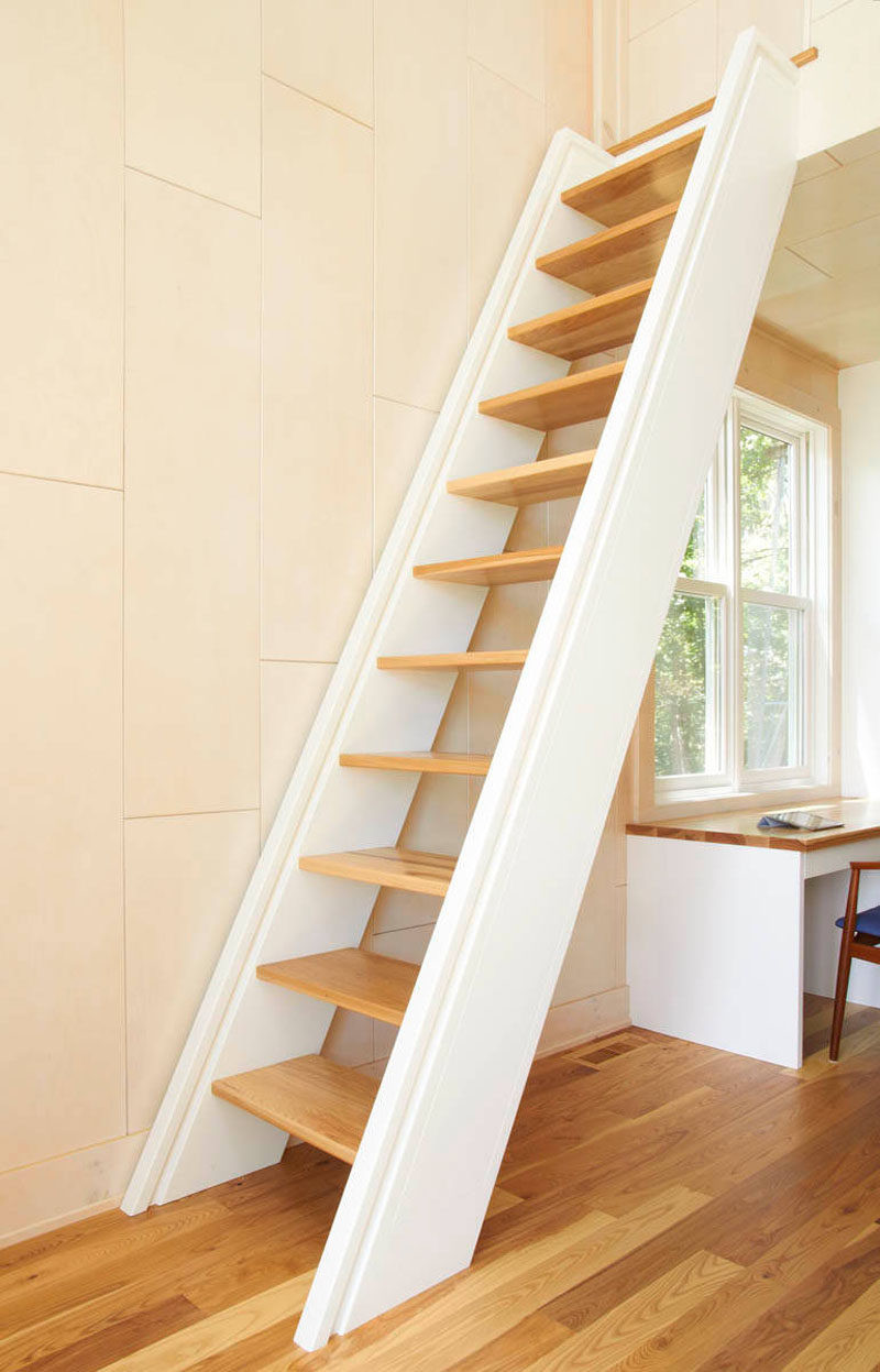Designing Stairs for the attic 13 Stair Design Ideas for Small Spaces