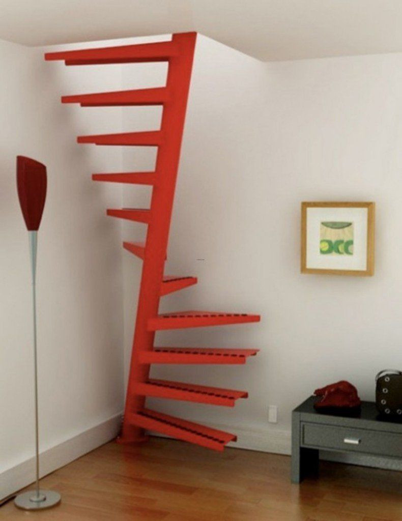 Designing Stairs for the attic 18 Interesting Options for Designing Stairs for the attic