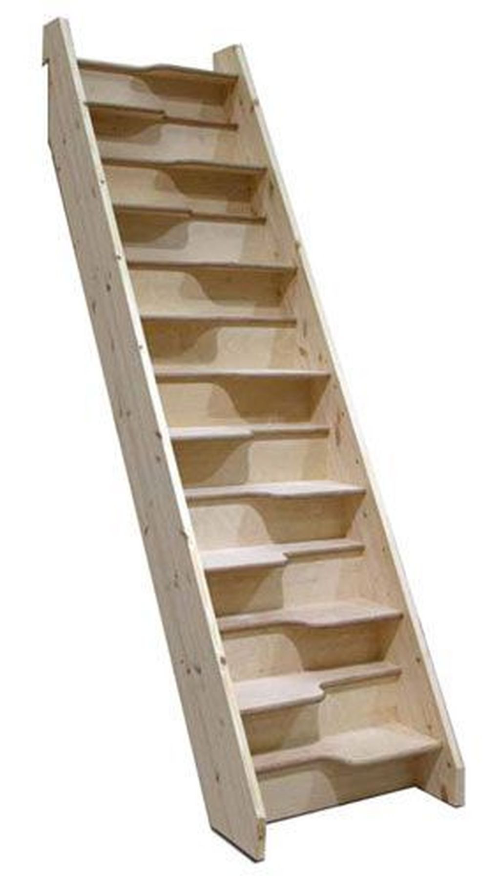 Designing Stairs for the attic 40 Magnificient Options for Designing Stairs for the attic