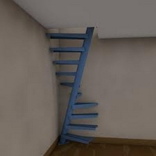 Designing Stairs for the attic 50 Well Designed Spiral Staircase Ideas