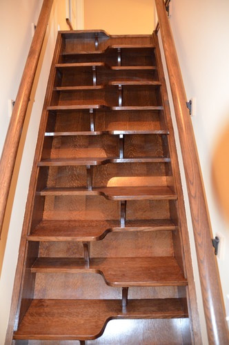 Designing Stairs for the attic 72 Best Images About attic Stairs On Pinterest