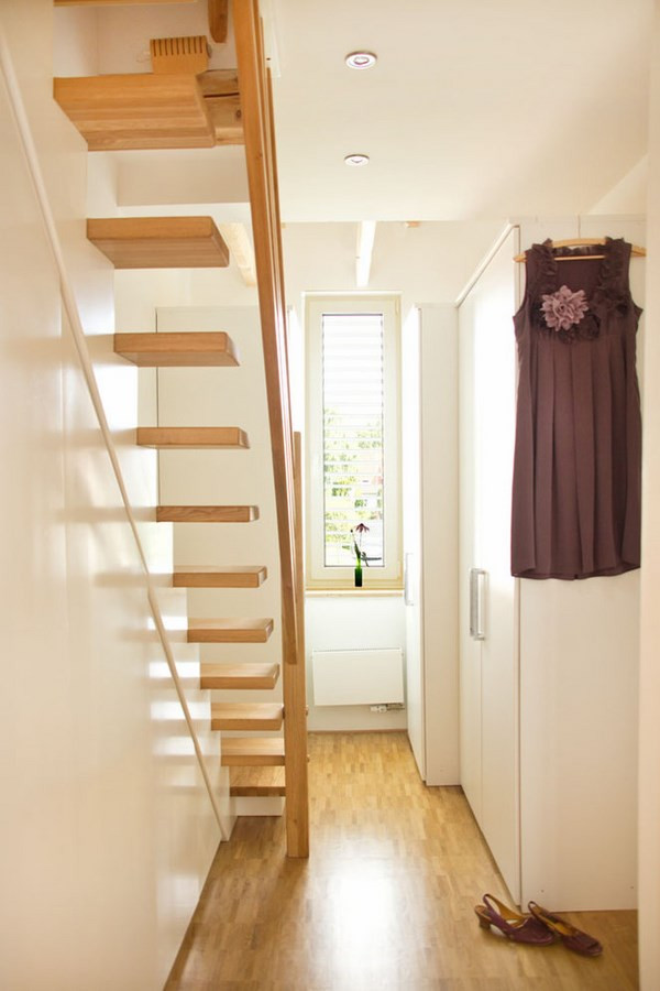 Attic stairs design ideas – pros and cons of different types