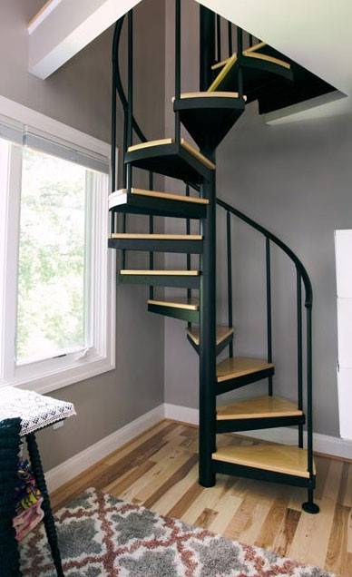 Designing Stairs for the attic attic Stairs Spiral Staircases for attics