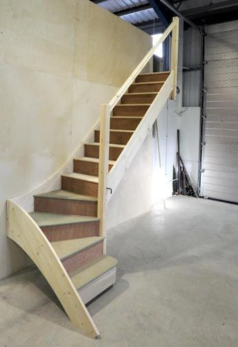 Designing Stairs for the attic Stairs to Loft In Garage Garage organization