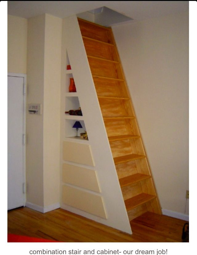 Designing Stairs for the attic This Would Be Perfect for Our attic Stairs as long as