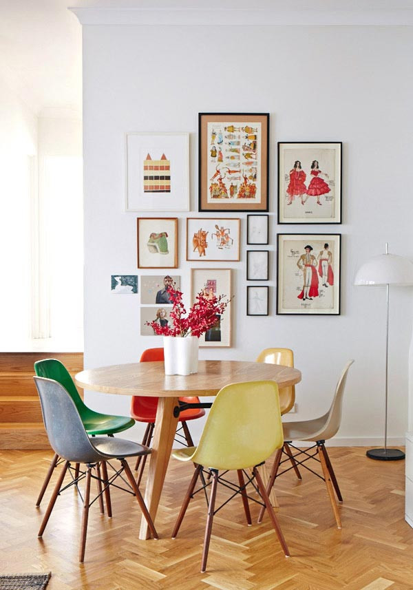 Dining Room Multicolored Chairs Colourful Dining Table and Chairs Colored Dining Chairs