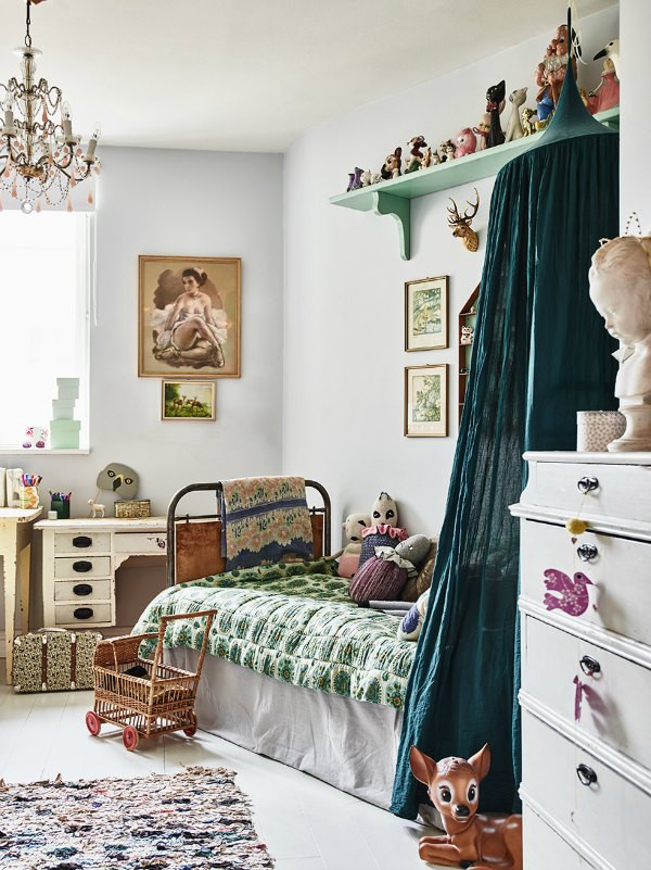 Excellent Bedrooms with Vintage touch 2 Vintage Kid S Rooms with A Boho touch